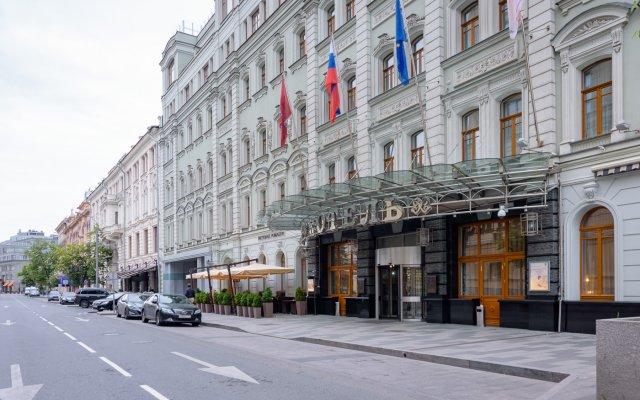 Гостиница Пётр I в Москве - забронировать гостиницу Пётр I, цены и фото номеров Москва вид на фасад