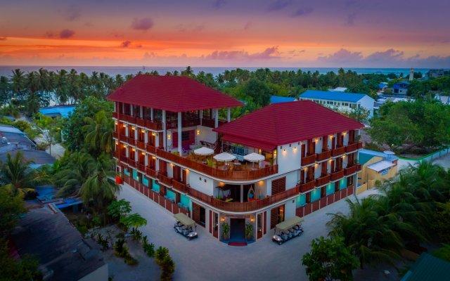 Отель Araamu Holidays & Spa Мальдивы, Атолл Каафу - отзывы, цены и фото номеров - забронировать отель Araamu Holidays & Spa онлайн вид на фасад