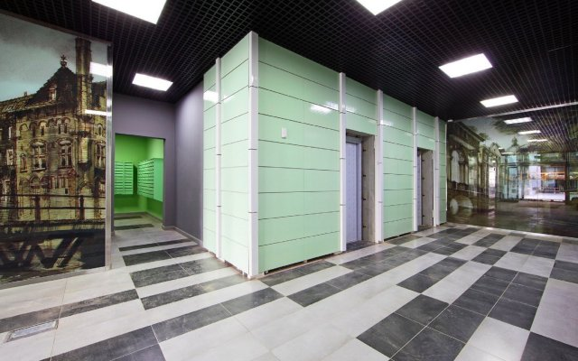 Апартаменты на Кронштадтском 6/1-1 вид на фасад
