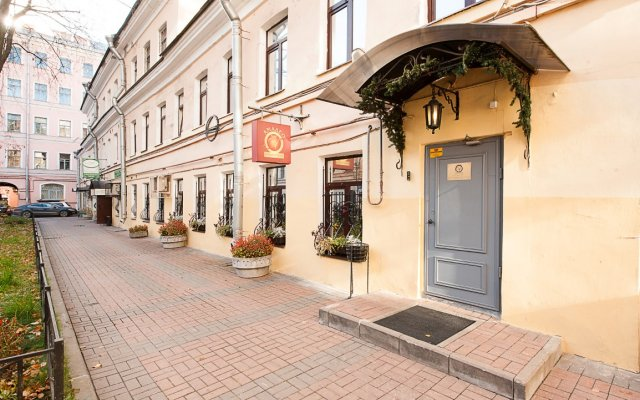 Мини-Отель Амадео by friends вид на фасад