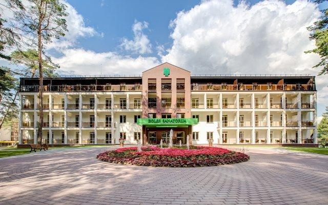Отель Санаторий Egle Литва, Гарлиава - отзывы, цены и фото номеров - забронировать отель Санаторий Egle онлайн вид на фасад