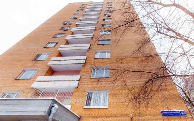 Апартаменты Просторная двушка на Павелецкой вид на фасад
