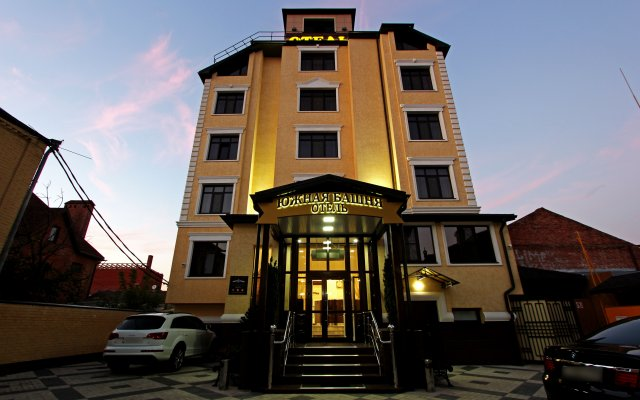 Гостиница Южная Башня вид на фасад