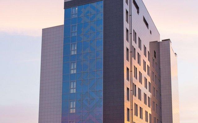 Отель Хэмптон бай Хилтон Уфа вид на фасад