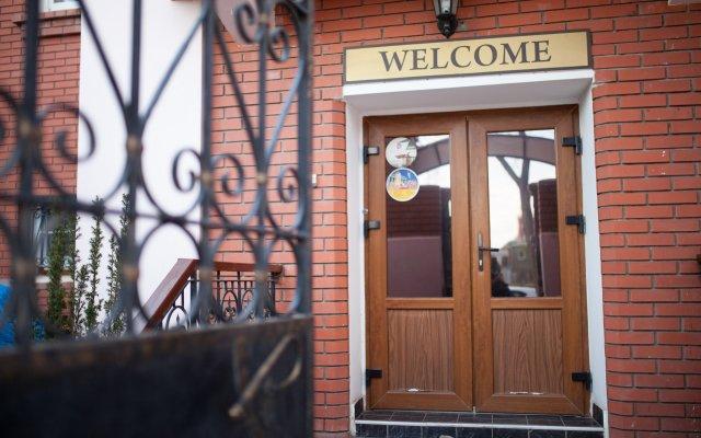 Мини-отель Астра вид на фасад