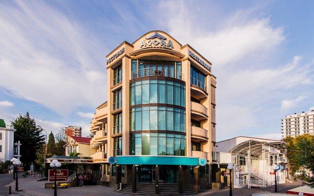Гостиница Агора в Алуште - забронировать гостиницу Агора, цены и фото номеров Алушта вид на фасад