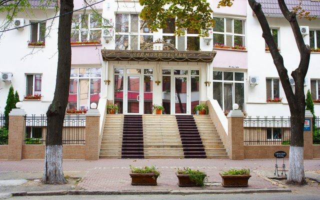 Гостиница Лермонтовский вид на фасад