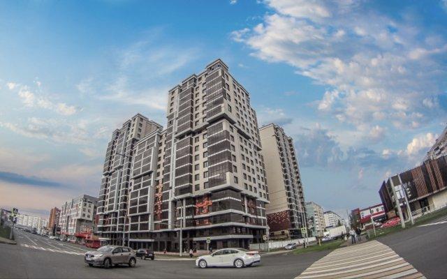Апартаменты на Чистопольской вид на фасад