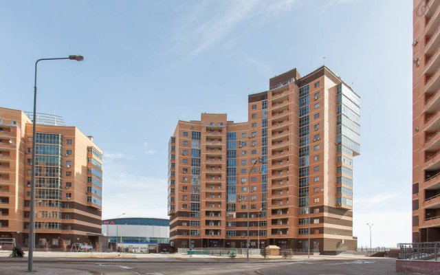 Апартаменты KZN Life нa Чистопольской 40 вид на фасад