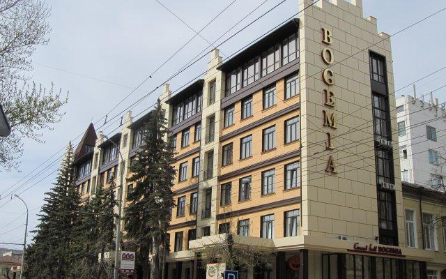 Гостиница Богемия на Вавилова вид на фасад