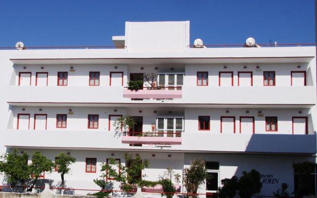 Отель Stam & John Греция, Кос - отзывы, цены и фото номеров - забронировать отель Stam & John онлайн вид на фасад