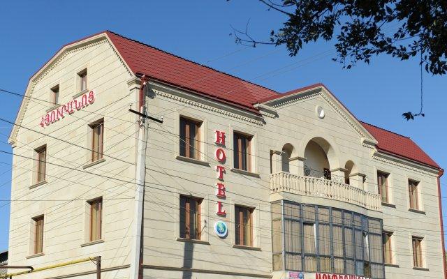 Отель SD DAVID вид на фасад