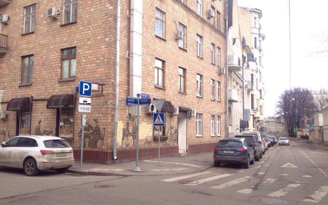 Апартаменты на Арбате вид на фасад