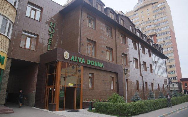 Гостиница Альва Донна в Котельниках 8 отзывов об отеле, цены и фото номеров - забронировать гостиницу Альва Донна онлайн Котельники вид на фасад