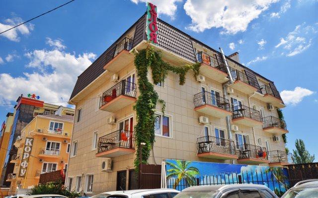 Гостиница Хлоя в Витязево 2 отзыва об отеле, цены и фото номеров - забронировать гостиницу Хлоя онлайн вид на фасад