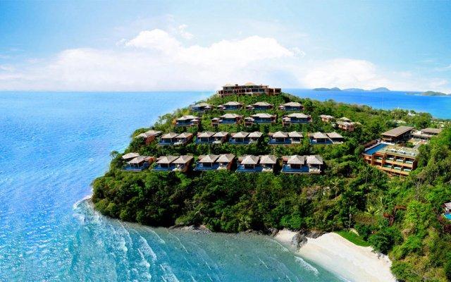 Sri Panwa Phuket Luxury Pool Villa Hotel пляж