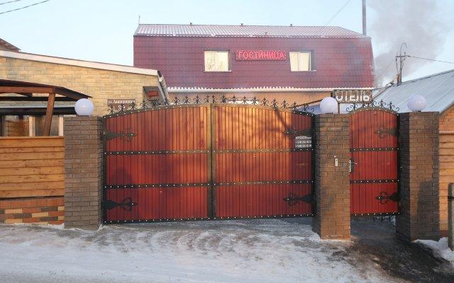 Гостиница Сова в Красноярске отзывы, цены и фото номеров - забронировать гостиницу Сова онлайн Красноярск вид на фасад