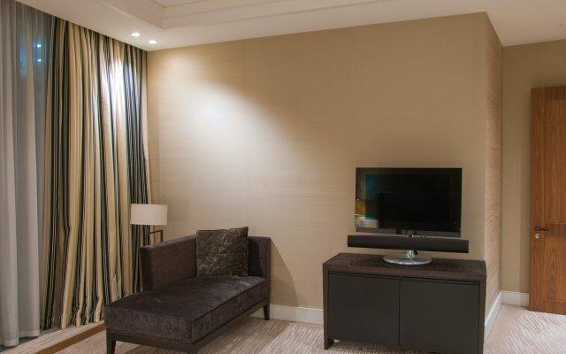 Апартаменты на Пресненской набережной комната для гостей