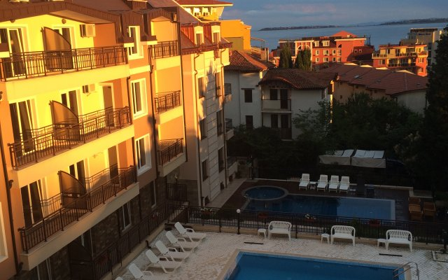 Апарт-Отель Horizont балкон