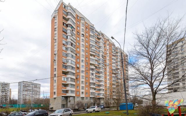 Апартаменты Domumetro на Каховской вид на фасад