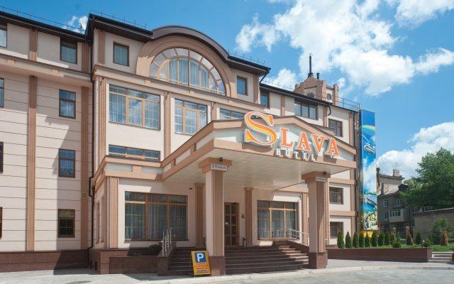 Гостиница SLAVA вид на фасад