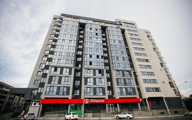 Гостиница на Комсомольском 80 Е в Барнауле отзывы, цены и фото номеров - забронировать гостиницу на Комсомольском 80 Е онлайн Барнаул вид на фасад