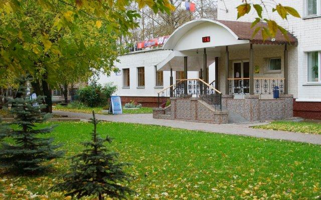 Гостиница Спутник вид на фасад
