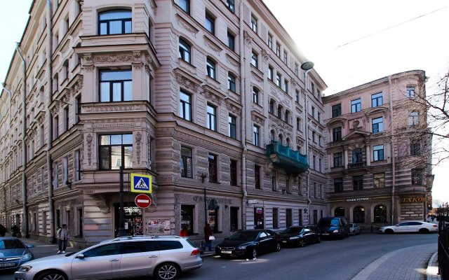 Гостиница SuperHostel на Пушкинской 14 вид на фасад