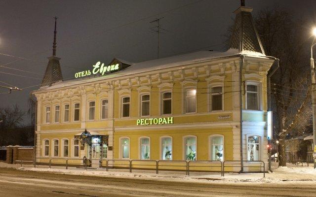 Гостиница Европа в Самаре отзывы, цены и фото номеров - забронировать гостиницу Европа онлайн Самара вид на фасад