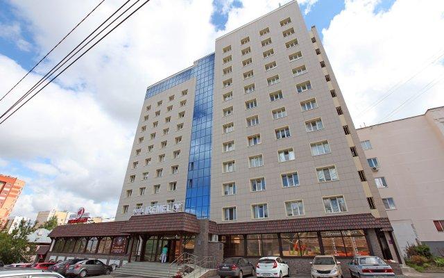 Гостиница Иремель в Уфе 13 отзывов об отеле, цены и фото номеров - забронировать гостиницу Иремель онлайн Уфа вид на фасад