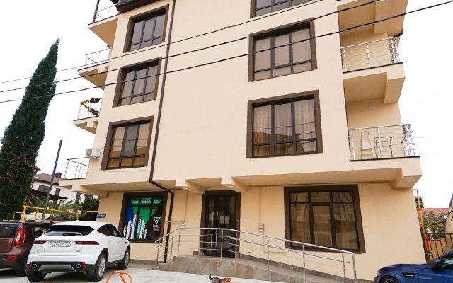Гостиница More Apartments на Кувшинок 8-3 в Сочи отзывы, цены и фото номеров - забронировать гостиницу More Apartments на Кувшинок 8-3 онлайн вид на фасад