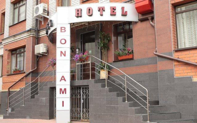 Гостиница Бон Ами вид на фасад