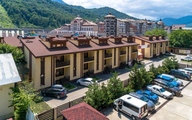 Гостиница Mountain Villas в Красной Поляне 2 отзыва об отеле, цены и фото номеров - забронировать гостиницу Mountain Villas онлайн Красная Поляна парковка