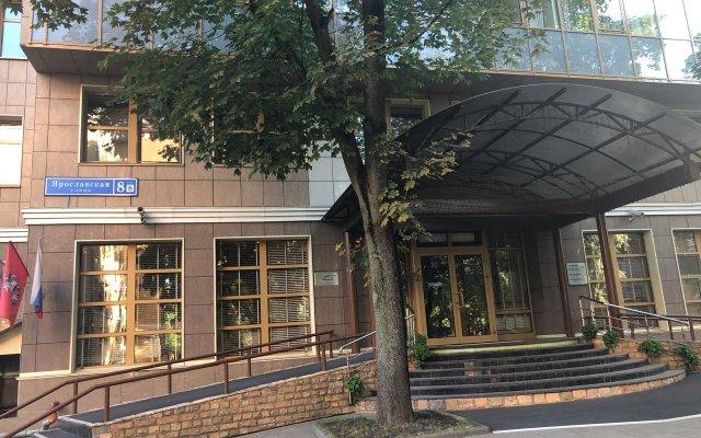 Гостиница Дизайн Отель в Москве - забронировать гостиницу Дизайн Отель, цены и фото номеров Москва вид на фасад
