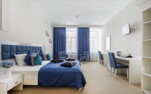 Гостиница Blue Sky на Невском комната для гостей