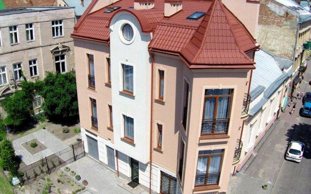 Апартаменты в Львове вид на фасад