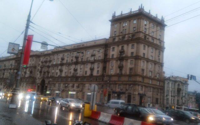 Апартаменты на Садовой-Черногрязской вид на фасад