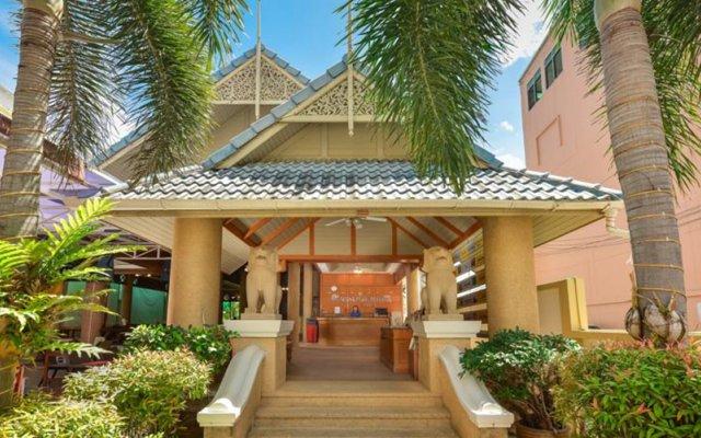 Отель Patong Pearl Resortel вид на фасад