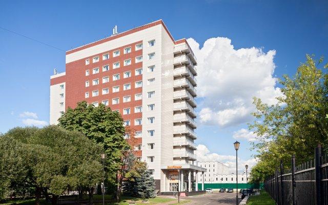 Гостиница SunFlower Парк в Москве - забронировать гостиницу SunFlower Парк, цены и фото номеров Москва вид на фасад