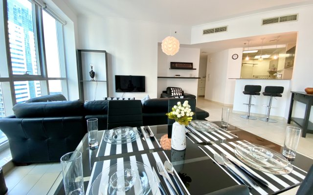 2 Bedroom Apartment with partial Sea View in Torch Tower Dubai 1