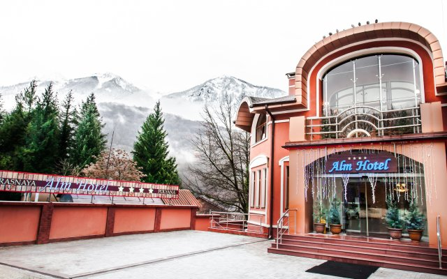 Гостиница Alm вид на фасад