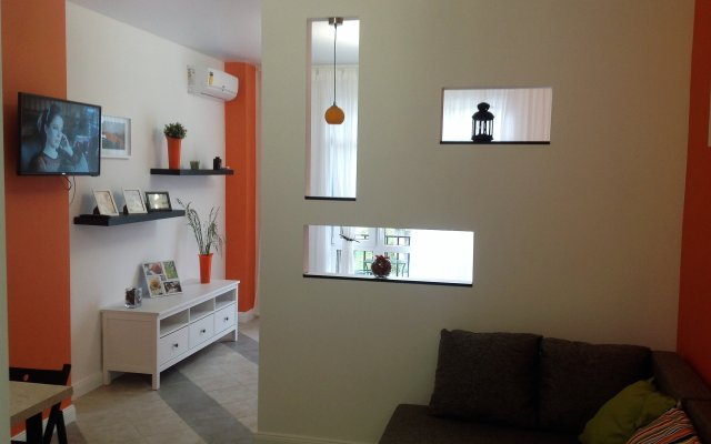 Апартаменты Orange комната для гостей