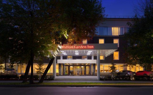 Гостиница Hilton Garden Inn Kaluga в Калуге - забронировать гостиницу Hilton Garden Inn Kaluga, цены и фото номеров Калуга вид на фасад