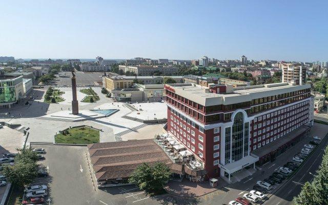 Гостиница Евроотель Ставрополь парковка