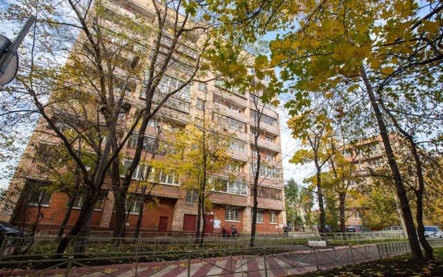 Апартаменты Брусника Новая Башиловка вид на фасад