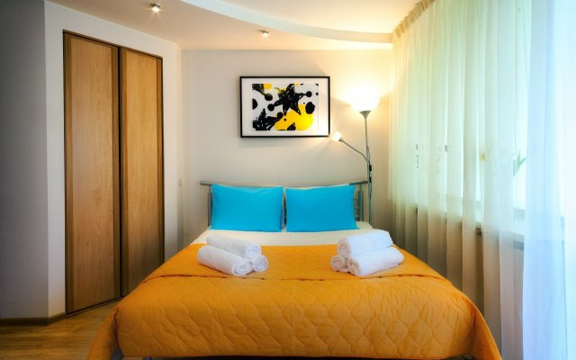 Апартаменты LuxHaus комната для гостей