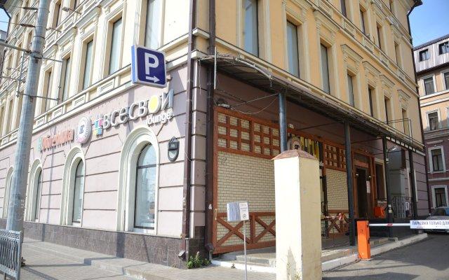 Хостел Пушкин вид на фасад