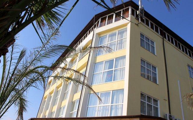 Гостиница Илиада вид на фасад