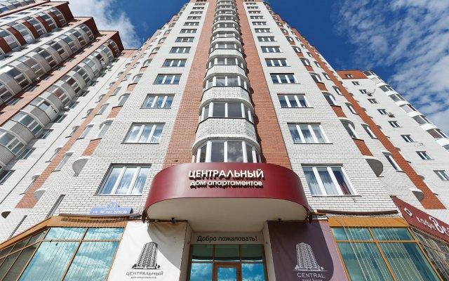 Гостиница Центральный Дом Апартаментов вид на фасад
