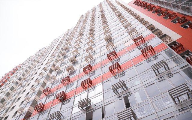 Гостиница ApartOk MITINO Life 371 в Москве отзывы, цены и фото номеров - забронировать гостиницу ApartOk MITINO Life 371 онлайн Москва вид на фасад